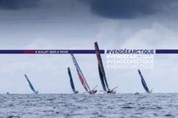 Départ IMOCA Course à la Voile Vendée Arctique